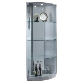 Silver Curio Cabinets Foter