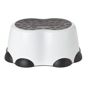 Bumbo Step Stool, Black/White