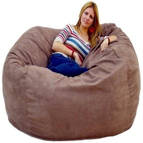 Amazing Jumbo Bean Bags Ideas On Foter Alphanode Cool Chair Designs And Ideas Alphanodeonline