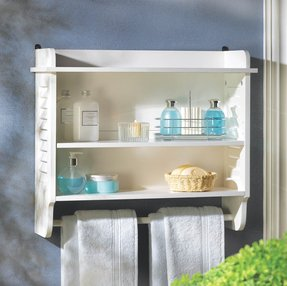Toilet Storage Shelf - Foter