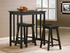 Set Of 3 Bar Stools - Foter