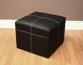 DHP Delaney Small Square Ottoman