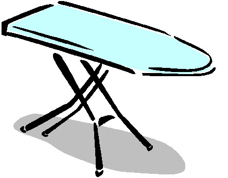 Padded Sleeve Ironing Board