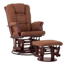 Swivel Glider Rocker Chair With Ottoman Foter
