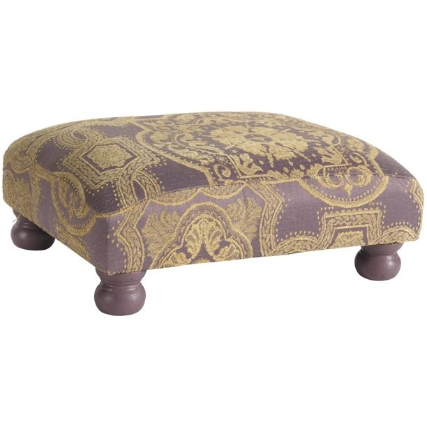 Ottomans & Footstools Victorian Upholstered Foot Stool On Bun Feet High Quality And Inexpensive