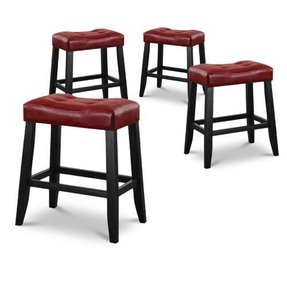 red saddle stool foter