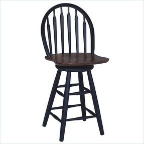 Black Windsor Bar Stools Foter