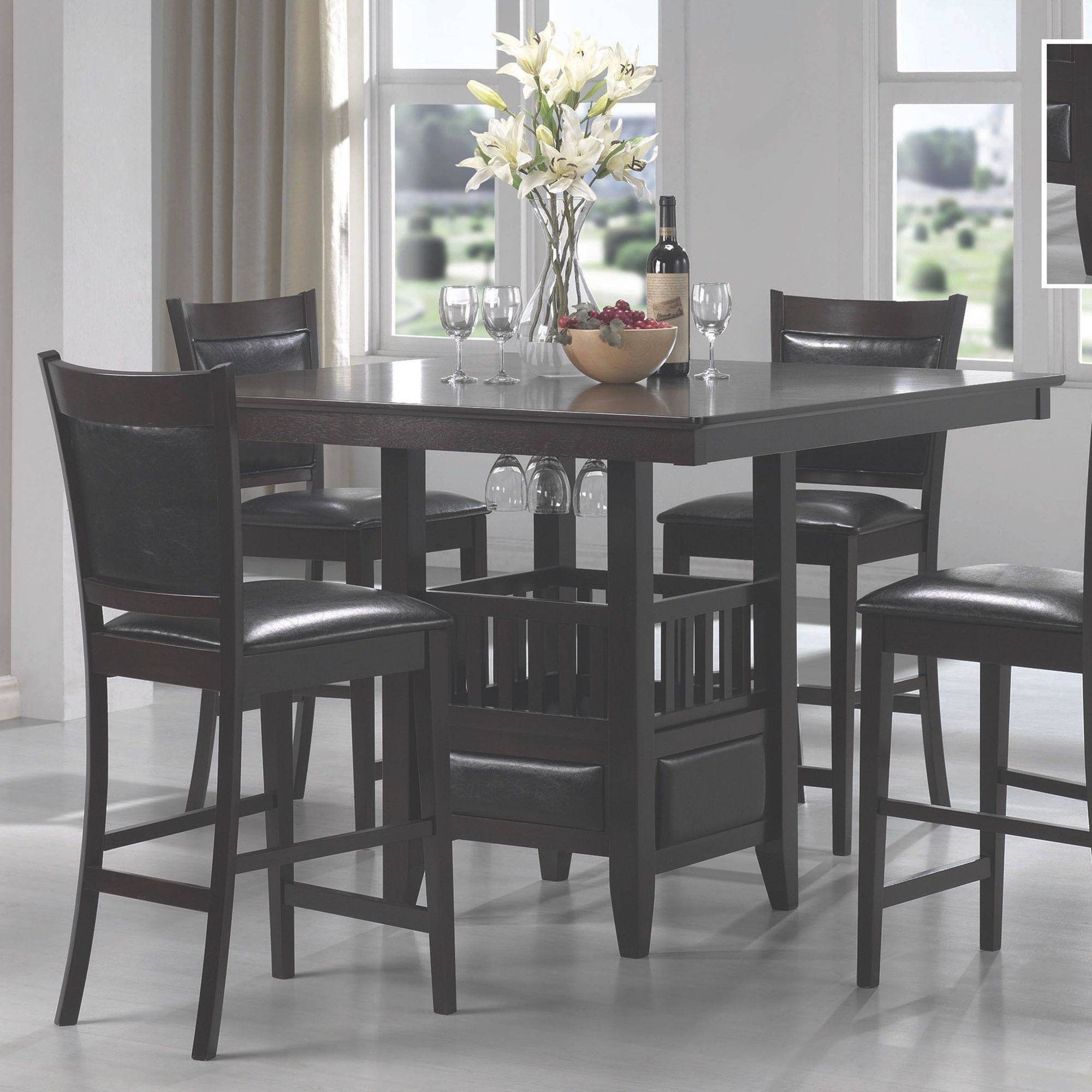 Jaden Square Counter-Height Table & Counter Height Bistro Table Sets - Foter