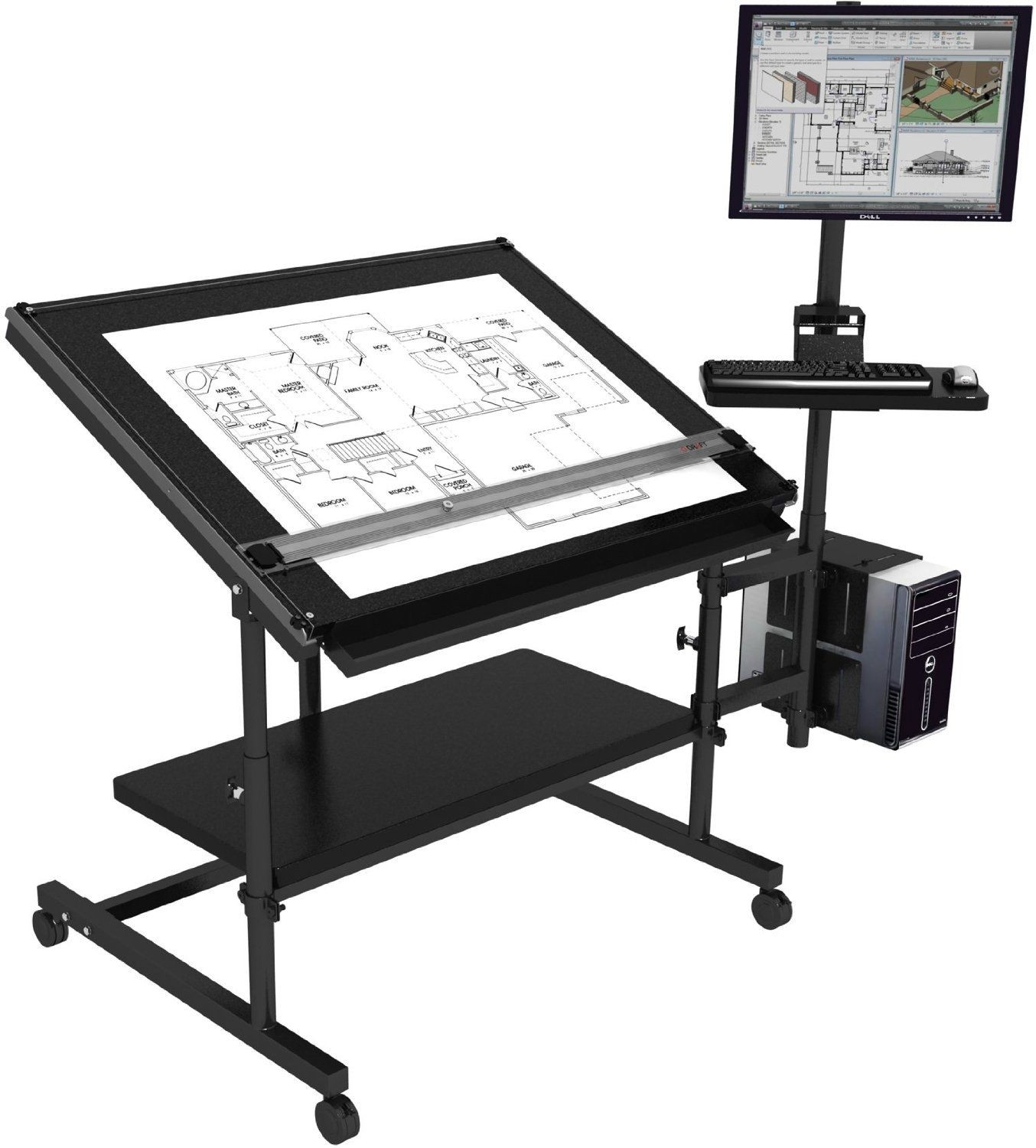 Amazing Professional Drafting Table 48 Great Pictures