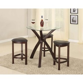 Glass Top Table Sets Foter