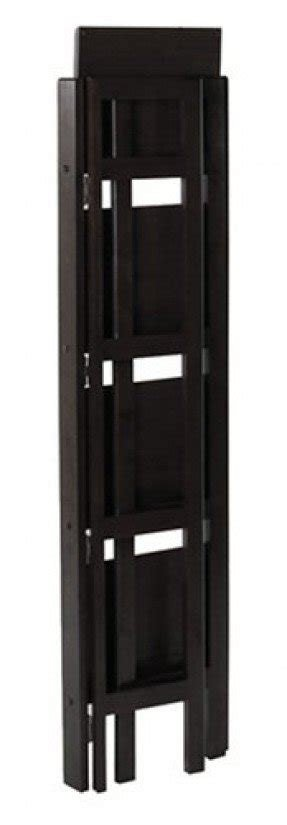 Book Case Shelf -4- Shelvers Foldable Black Finish