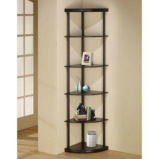 Corner Shelves Living Room Ideas On Foter