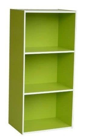 Home to Office Solutions Simplicity 3-Shelf Bookcase, 35-Inch, Green