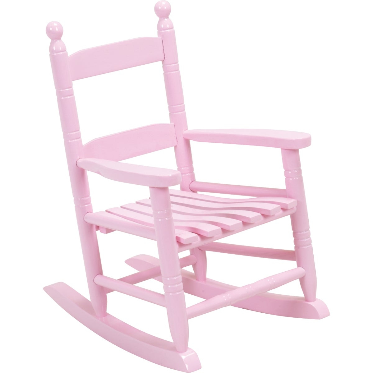 Knollwood Childrenu0027s Rocking Chair Finish: Pink