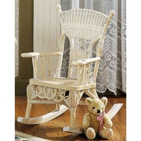Millie Wicker Child Rocking Chair