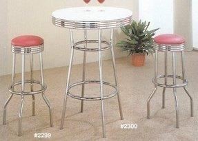Soda Fountain Style Bar Table Ideas