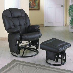 Groovy Swivel Glider Rocker Chair With Ottoman Ideas On Foter Short Links Chair Design For Home Short Linksinfo