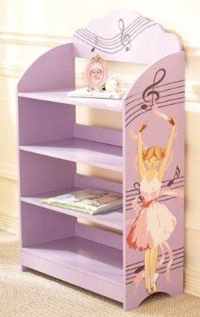 Bookcase With Ballerina Design