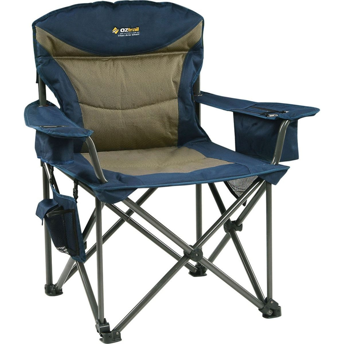 Delightful Folding Armrest Chair With Footrest