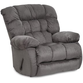 Teddy Bear Chaise Swivel Glider Recliner Fabric: Saddle