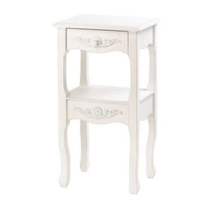 Country French Style Marseilles Accent End Table Stand