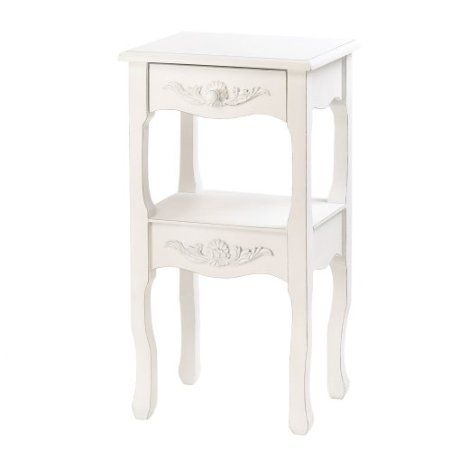 Charmant Country French Style Marseilles Accent End Table Stand