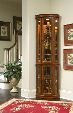Corner Wall Curio Cabinet Ideas On Foter