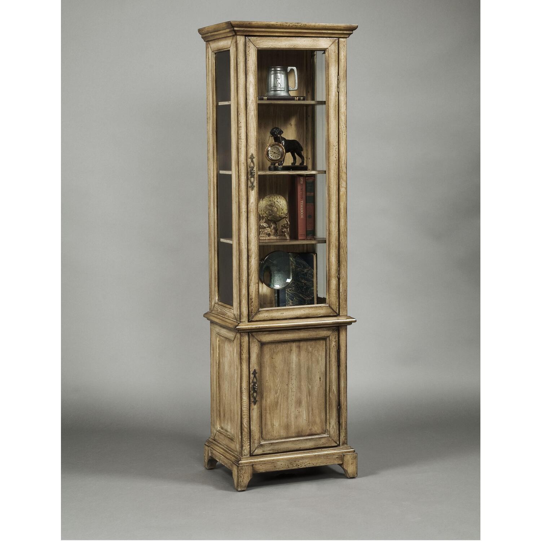 Good Rustic Display Cabinet