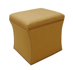 Yellow Ottomans Foter