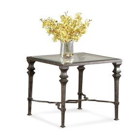 Bassett Mirror Lido Square End Table T1210-250