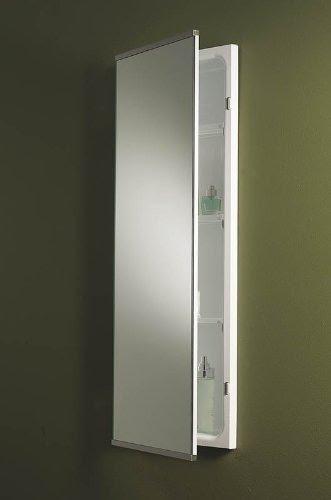 Beau Broan NuTone 625 Bel Aire Narrow Body Frameless Medicine Cabinet
