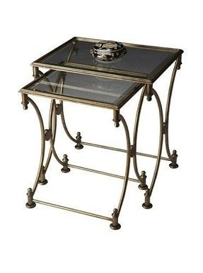 Butler Specialty Park Antique Gold Nesting Tables