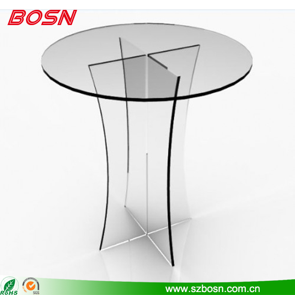 Genial Clear Acrylic Table