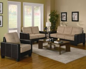 Microfiber Living Room Sets - Foter