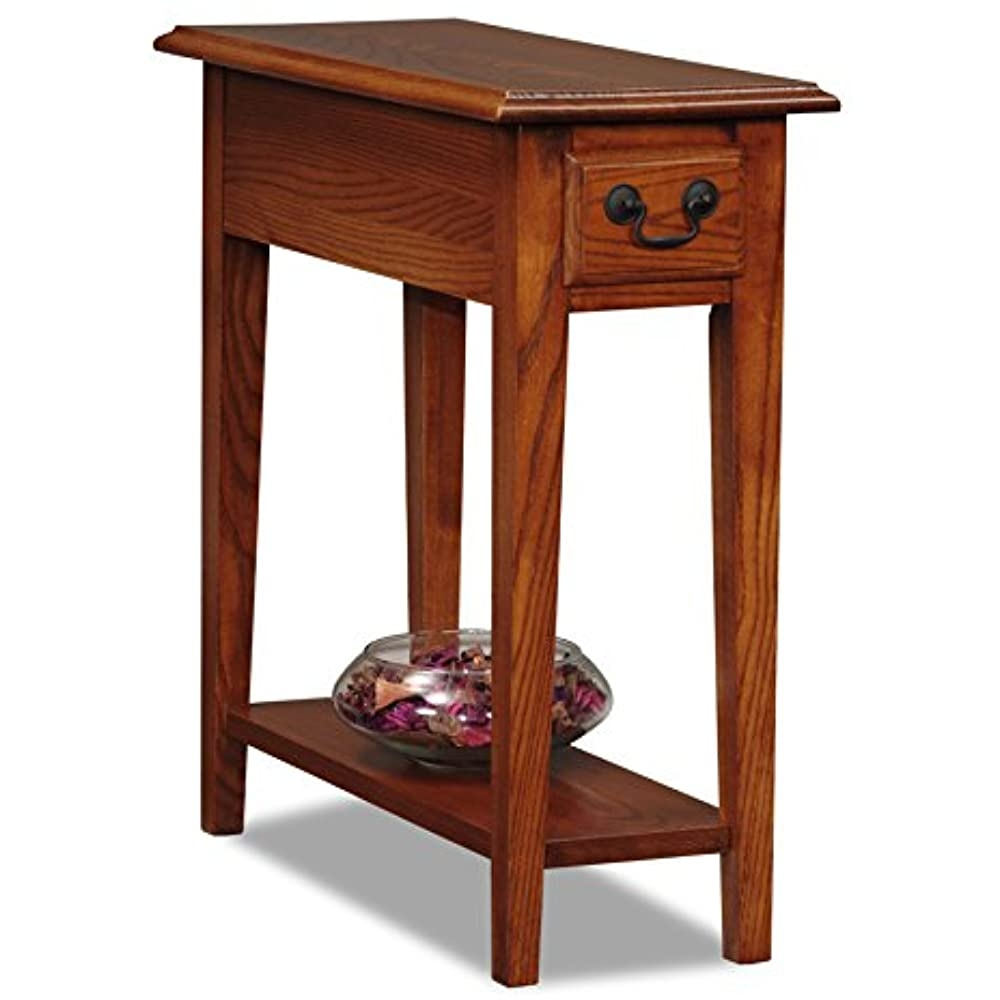 Attrayant Narrow End Table (Medium Brown) (2u0027H X ...