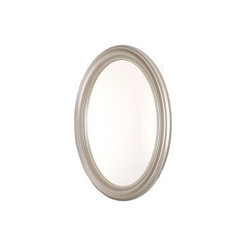 Pegasus SP4593 Deco 29 Inch High By 24 Inch Wide Oval Framed Medicine  Cabinet