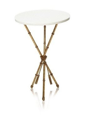 Safavieh Ross Accent Table, White/Gold