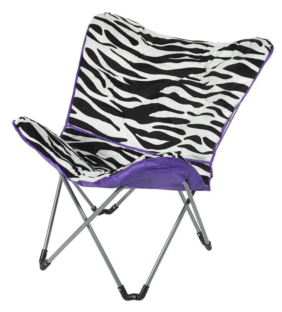 3C4G Zebra Butterfly Chair