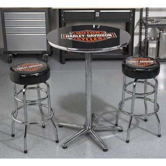 Harley-Davidson Bar & Shield Bar Stool