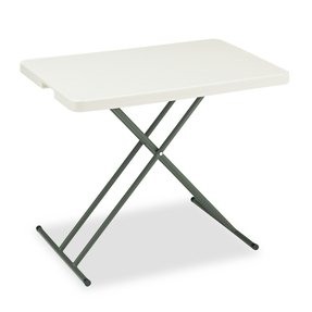 Iceberg Indestruc-Tables TooTM 1200 Series Personal Folding Table TABLE,FOLD,PRSNL,30X20,PM