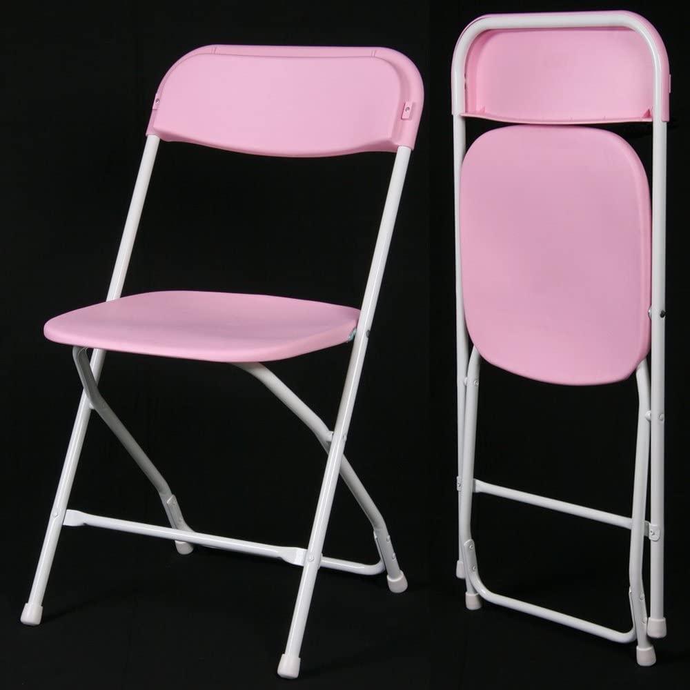 Charmant Phoenixx ICandy Color Folding Chair: PURPLE (2pcs Set)