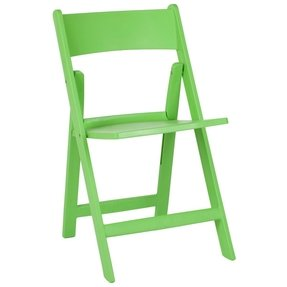 Safavieh Home Collection Renee Folding Chairs, Green, Set of 4