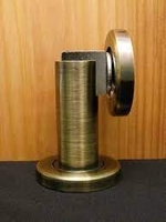 FPL Modern Door Stop//Holder and Magnetic Catch Antique Brass