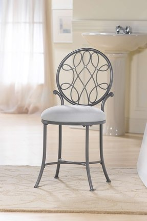 Marvelous Vanity Chairs And Stools Ideas On Foter Ibusinesslaw Wood Chair Design Ideas Ibusinesslaworg