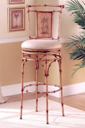 Hillsdale West Palm 26 in. Swivel Counter Stool -