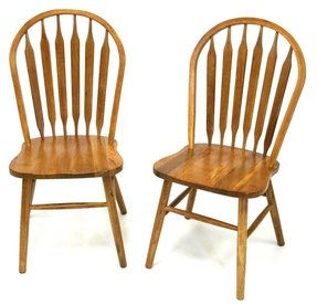 bicast dining royal chairs oak fishpools chair seat leather