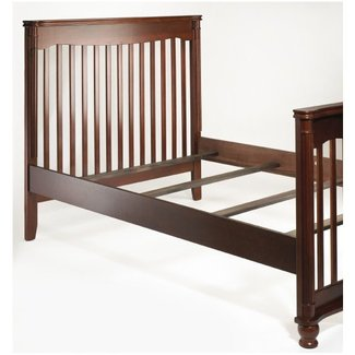 Sorelle Adult Bed Rails and Slats - Cherry