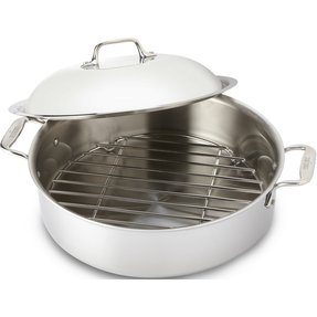Stainless Steel Roasting Pan With Lid Ideas On Foter
