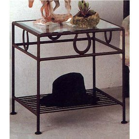 Wrought Iron Bedside Table Ideas On Foter