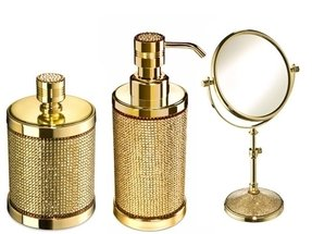 Gold bathroom accessories 1